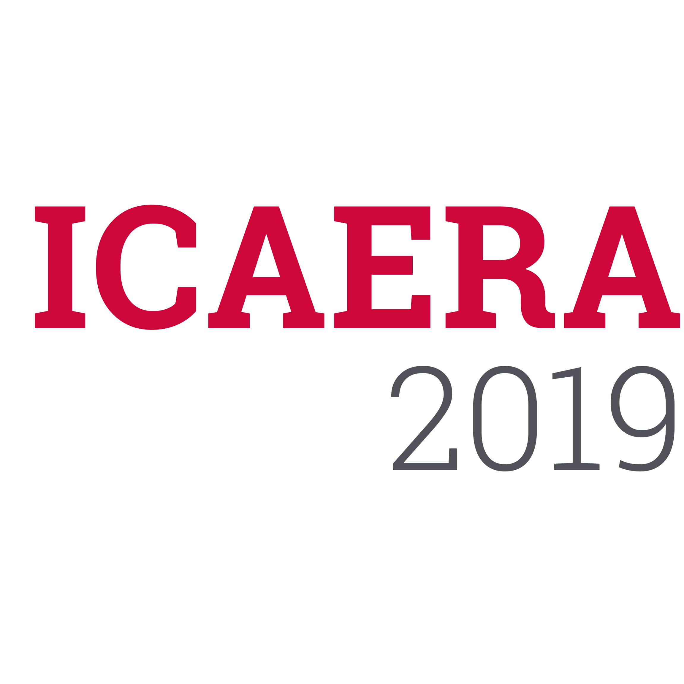 International Conference on Advances in Energy Research and Applications (ICAERA'19)